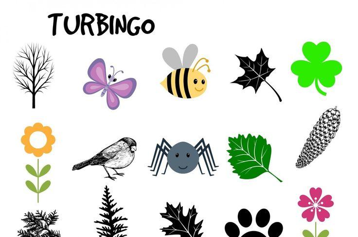 Turbingo er fin motivasjon for å få barn med på tur. Te…