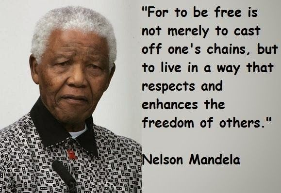 inspiring famous quotes By Nelson Mandela