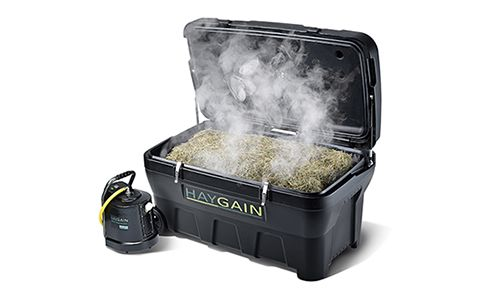 At GF Equestrian we make our own hay, recently a new horse has joined our team and he is sensitive to dust so we have been soaking the hay- we need a Haygain - Sponsor required please. How To Buy the Haygain Equine Hay Steamer