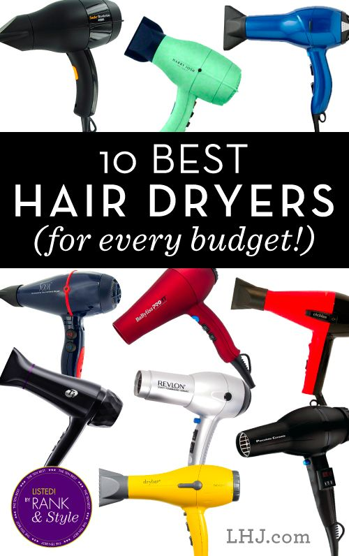 The 10 Best Hairdryers on the Market -- Click through the pin for price and purchasing details!