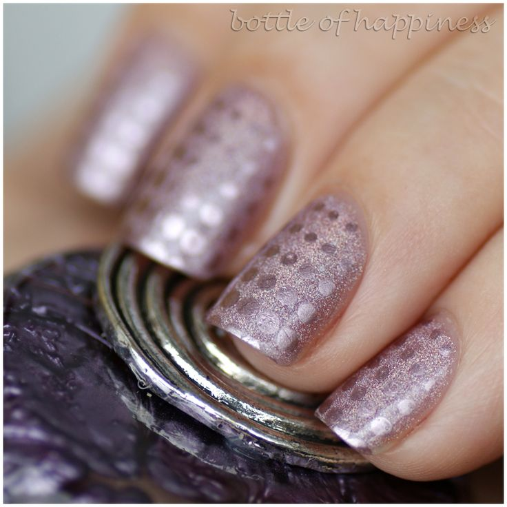 Golden Rose Holographic Color 101 + Essence Nail Art Magnetics 03 Magic Wand! #nails #nailart