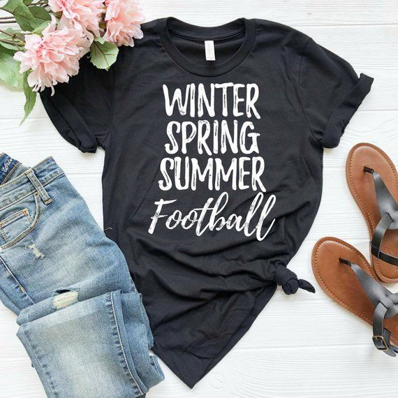 d8d554eae53f Winter Spring Summer Football American football Football shirt Football Tee  Football player Sports shirt Funny football shirt