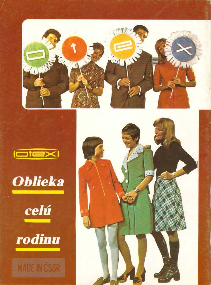 Aj tvoju rodinu obliekal Otex? | Made in ČSSR