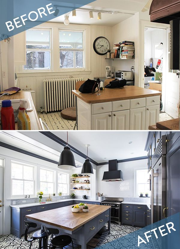 Before and After: A Stunning Brooklyn Kitchen Remodel » Curbly | DIY Design & Decor