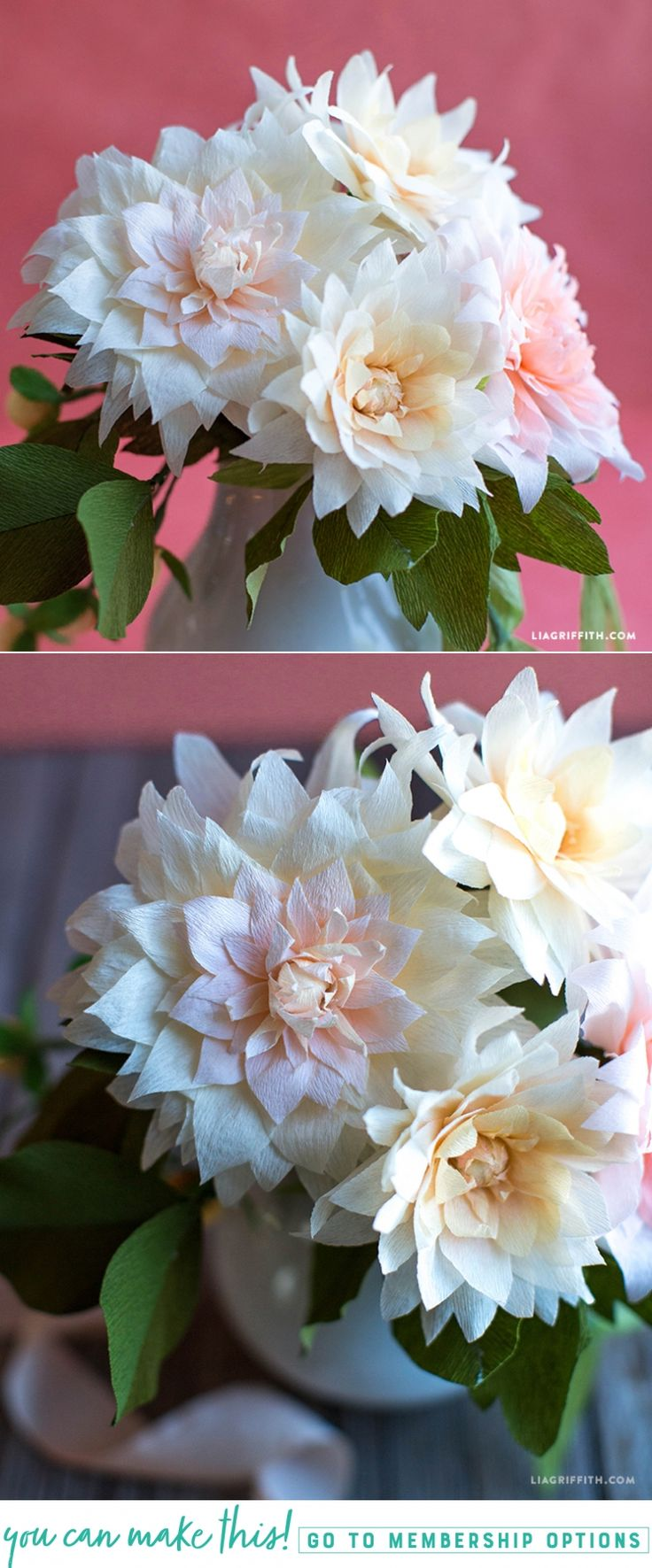 #crepepaperflowers #crepepaperrevival www.LiaGriffith.com