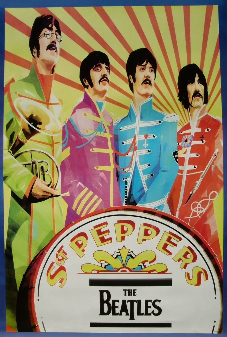 Happy 46th birthday Sgt. Pepper's Lonely Hearts Club Band!!!!