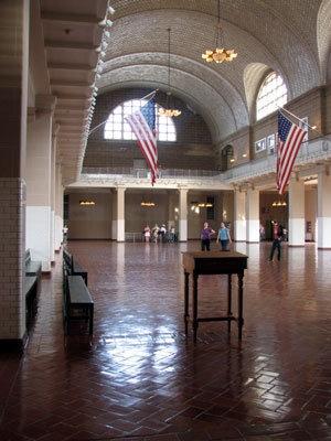 Great Hall Ellis Island