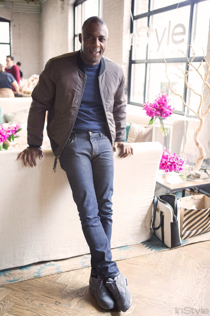 Idris Elba  So Sexy Because He's Wearing Clothes He Designed Himself from InStyle.com