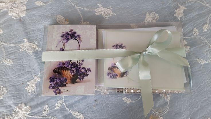 Gavepakke med kort