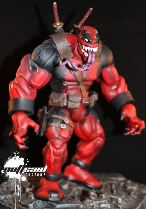 Venompool (Marvel Legends) Custom Action Figure                                                                                                                                                                                 More