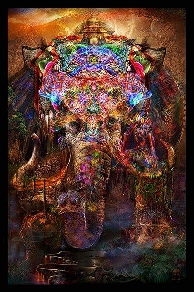 Hindu Series - Ganesha Tapestry - Jumbie Art