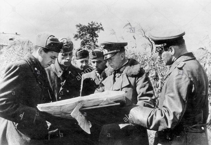 General Ewald von Kleist in the Ukraine, 1941