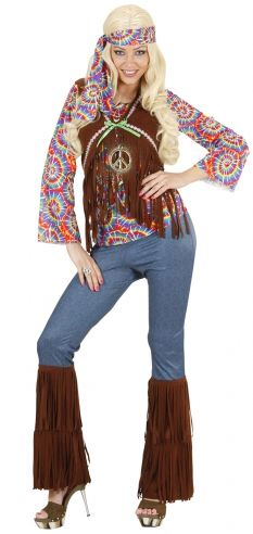 Disfraz de Hippie Psicodélica