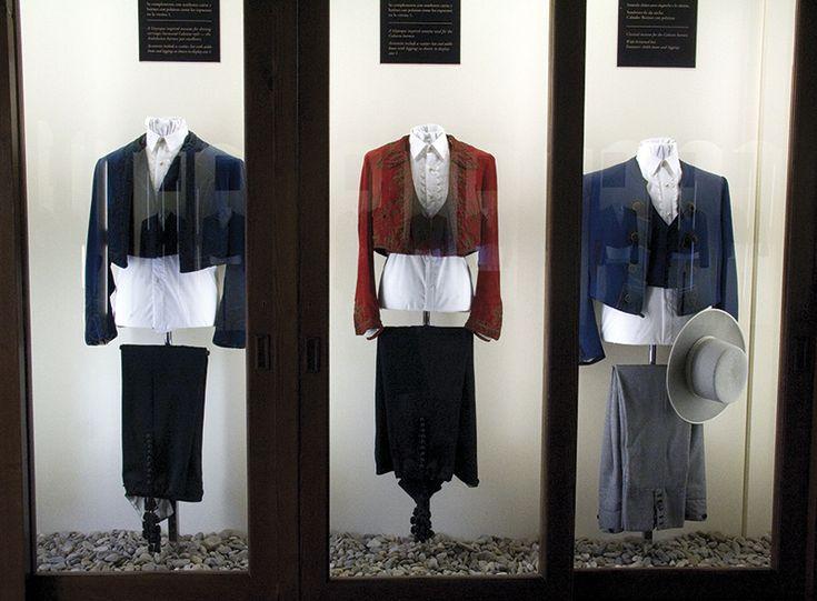 Uniformer på Den kongelige Andalusiske Rideskoles museum