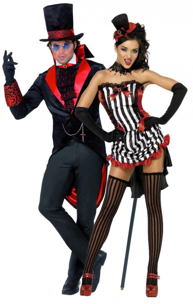 Костюмы на Хэллоуин для пары: вампиры