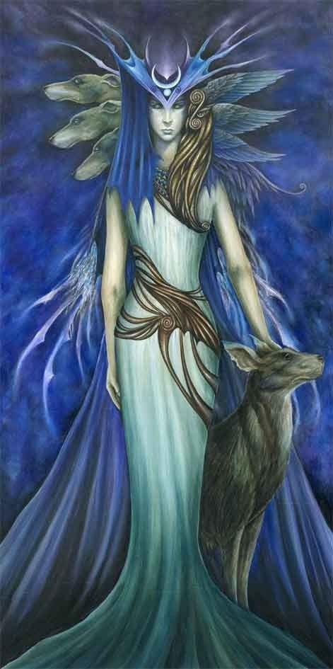 Hekate: goddess of the crossroads, the queen of witches, the ruler of the heavens & the underworld. She is the embodiment of darkness; the moon in it's true color. She is the maiden, the mother & the crone; the keeper of all vast knowledge & mysteries, wisdom, strength & truth. She is a liberated woman, free from all male-created bonds. She is mind, body, spirit; birth, life & death.