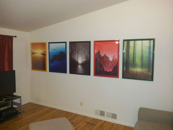 magic the gathering wall art. a nerdy thing done tastefully. could be a compromise...