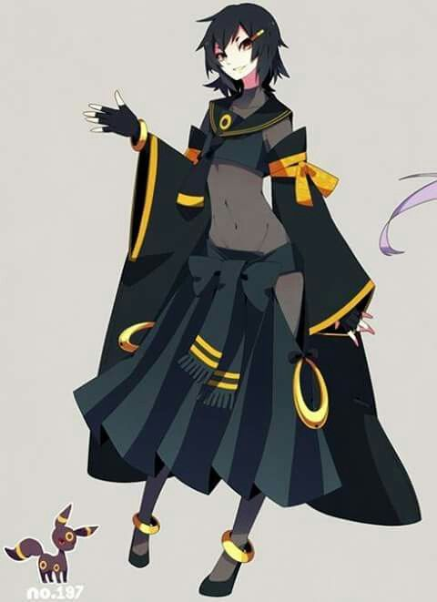gijinka Umbreon
