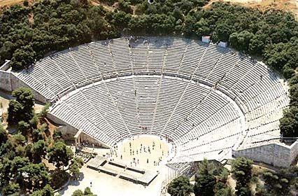 Epidaurus Peloponnese Argolis Greece