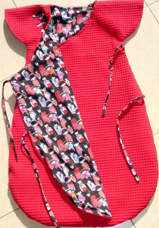 Gro Bag, turbulette, gigoteuse. Patron gratuit, free pattern: http://shop.kallou.fr/patrons-et-livres-de-couture/459-patrons-kallou.html
