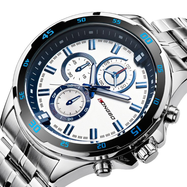 Hot sale Fashion Casual sport Stainless Round Dial Analog Quartz Men Wrist Watch,Top Qualiry Men Waterproof Watches 80241