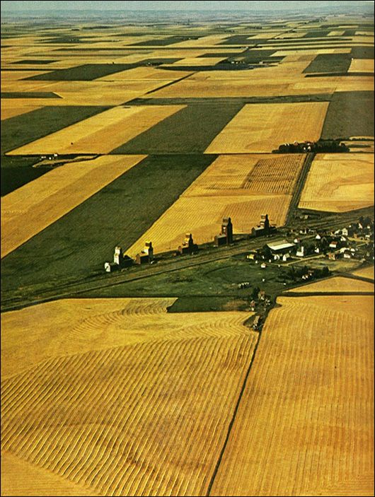 Canadian Prairies, patchwork quilt.  I want to go see this place one day. Please check out my website thanks. www.photopix.co.nz
