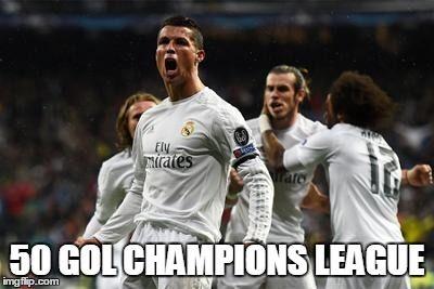 Striker Portugal ini sudah memiliki lebih dari 100 gol bagi dirinya. Saat ini Cristiano Ronaldo juga sudah mencapai angka 50 di kompetisi klub Eropa.