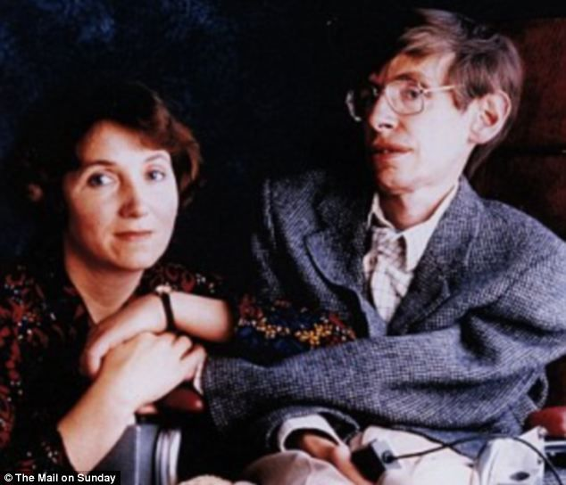 Stephen Hawking pays tribute to his former wife, Jane Wilde, for saving him from depression after he was initially diagnosed with ALS.