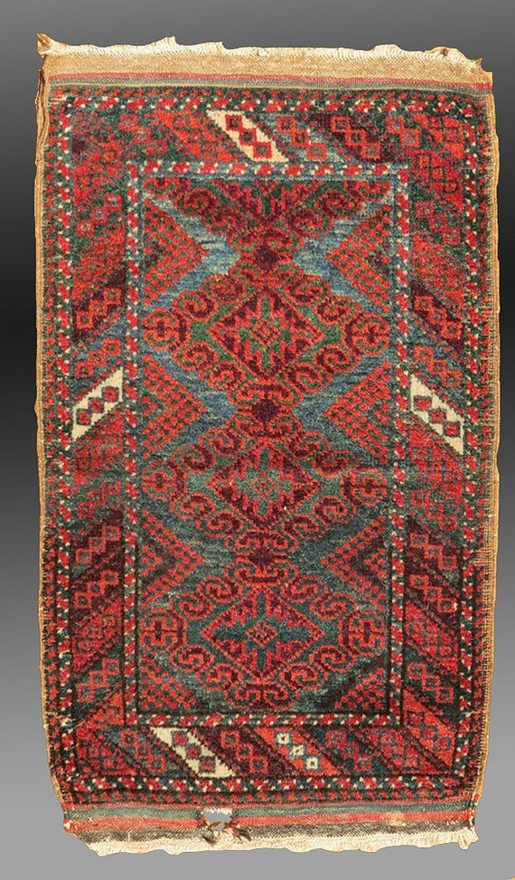 Vintage Antique Baluch Balisht SE Persia circa by tcEclecticImages