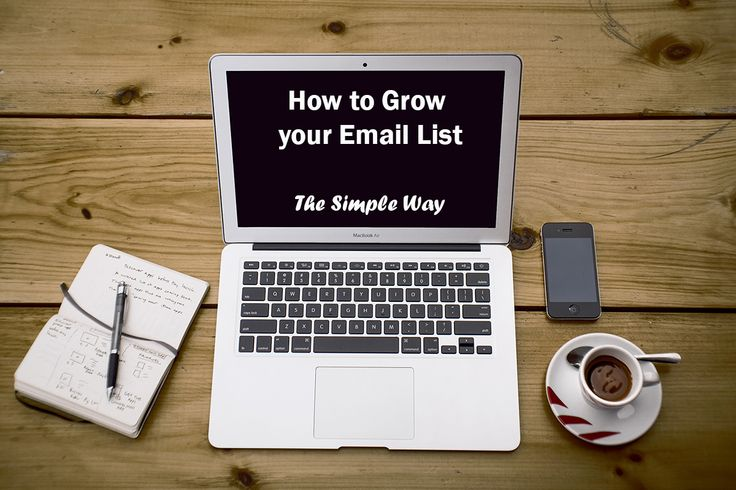 #Blog: How to grow your email list the simple way.  http://www.passionberrymarketing.com/marketing/how-to-grow-your-email-list-the-simple-way/  #CRM #Email #Marketing #Database #SMB