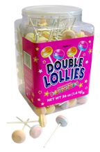 Smarties® Double Lollies: I remember when I would visit Pennsylvania I would walk to the convenient store with my cousins to get these. Childhood memories :)