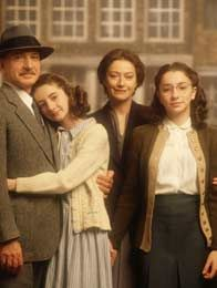 This is the Frank Family (Otto Frank, Anne Frank, Edith Frank, & Margot Frank)