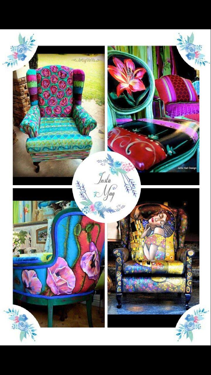 58 besten Crafts:Chairs,Couches,Headboards ext Bilder auf Pinterest ...