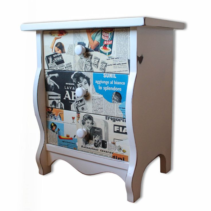 Restored #vintage bedside for women / more at www.artemisiacontemporary.com