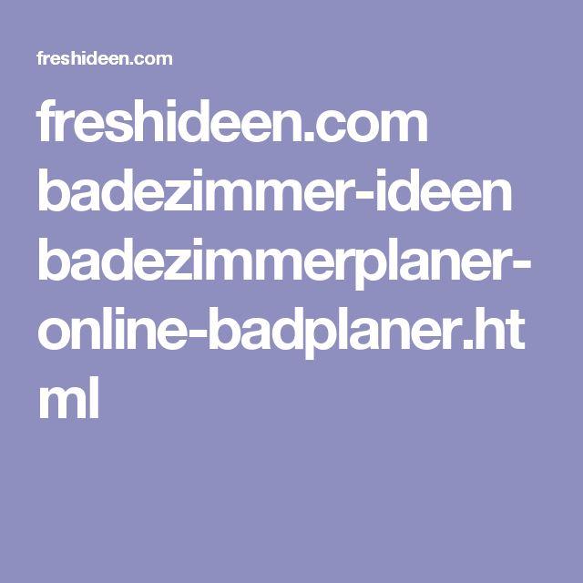Badezimmer online  Die besten 25+ Badplaner online Ideen auf Pinterest ...