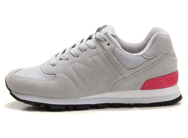 Grey Pink Red WS574GP Sonic - The Womens New Balance