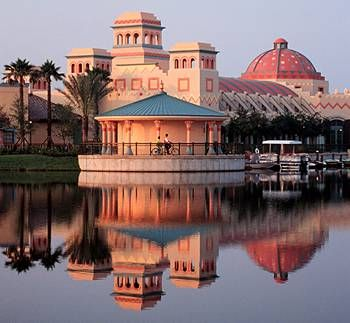 Disney's Coronado Springs Resort.  Where we'll be staying for the race.