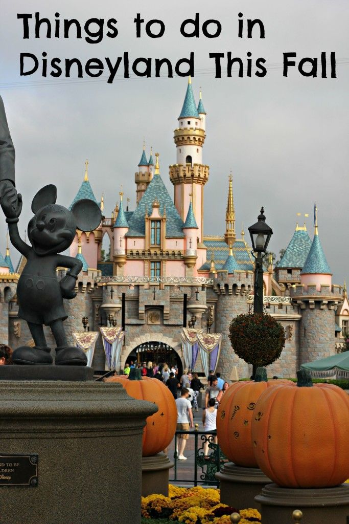 These things to do in Disneyland in the fall are some of the reasons I love vacationing there during late September through November.