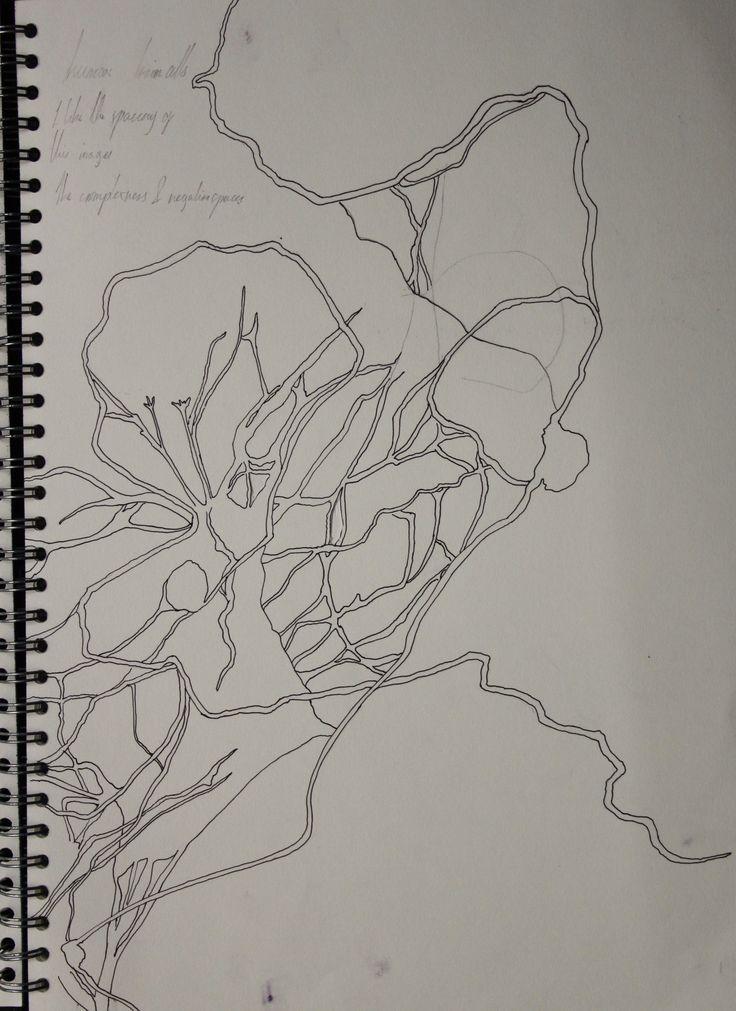 College project, my interpretation using brain cells.