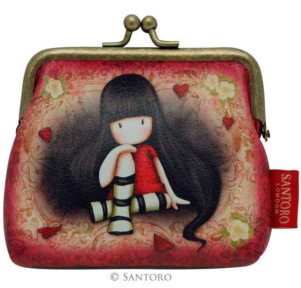 Monedero de Gorjuss The Collector con cierre tipo clip #gorjuss #santoro #santorolondon #accessories #pouches #purses #accesorios #monederos #xtremonline #gothic #goth #gotico