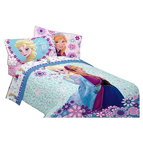 Disneys Frozen Warm Heart Twin/Full Comforter @ niftywarehouse.com #NiftyWarehouse #Frozen #FrozenMovie #Animated #Movies #Kids