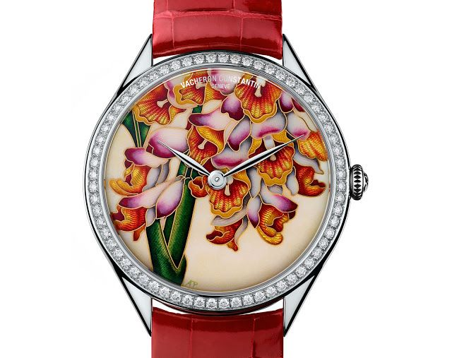 Watches by SJX: Introducing the Vacheron Constantin Métiers d'Art Florilège, with Cloisonné Enamel by Anita Porchet (with Price)