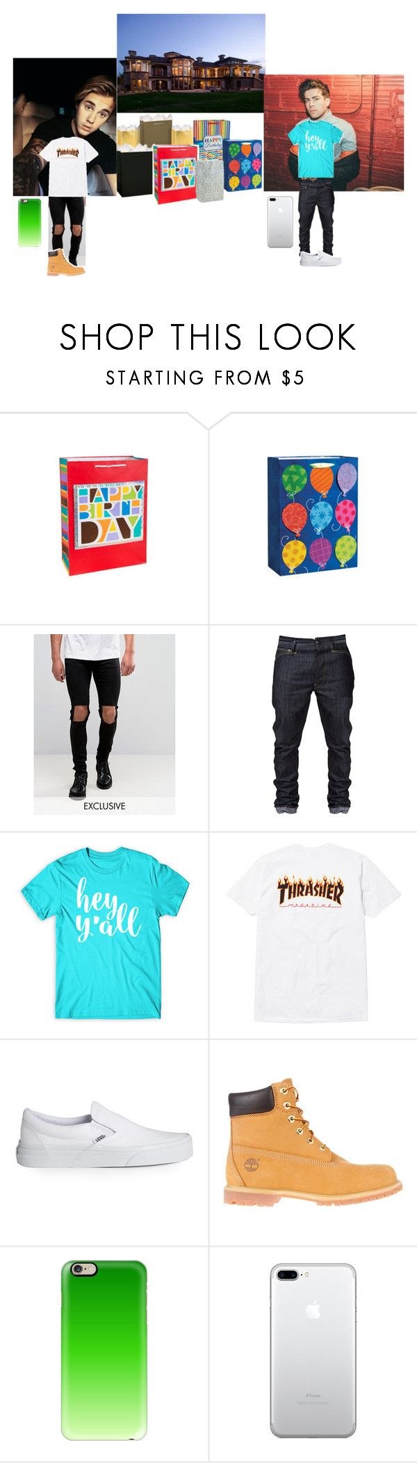 """💎Justin & Steven💎Going To Logan's Birthday Party."" by geazybxtch24 ❤ liked on Polyvore featuring interior, interiors, interior design, home, home decor, interior decorating, Justin Bieber, Reclaimed Vintage, Vans and Timberland"