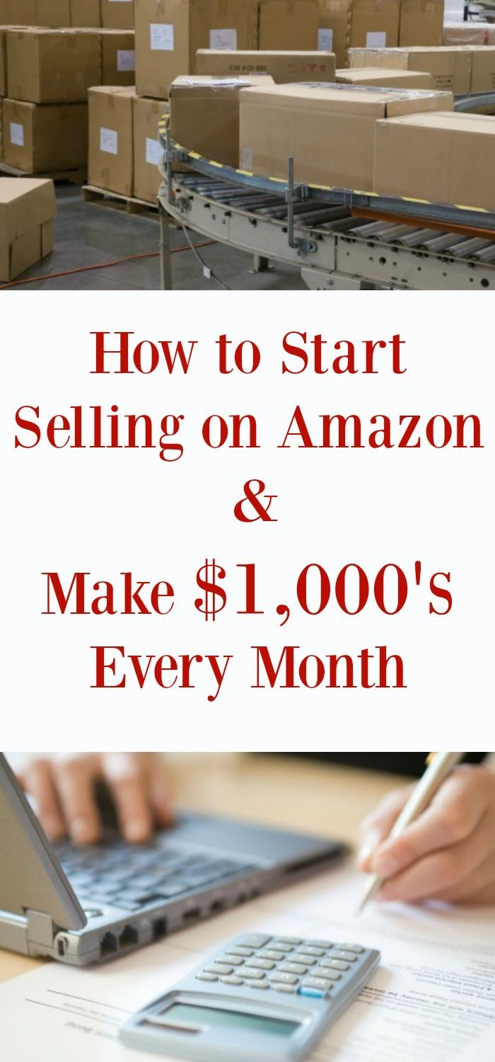 How to start selling on Amazon the right way so you can work from home and make $1,000's every single month. Make money online.