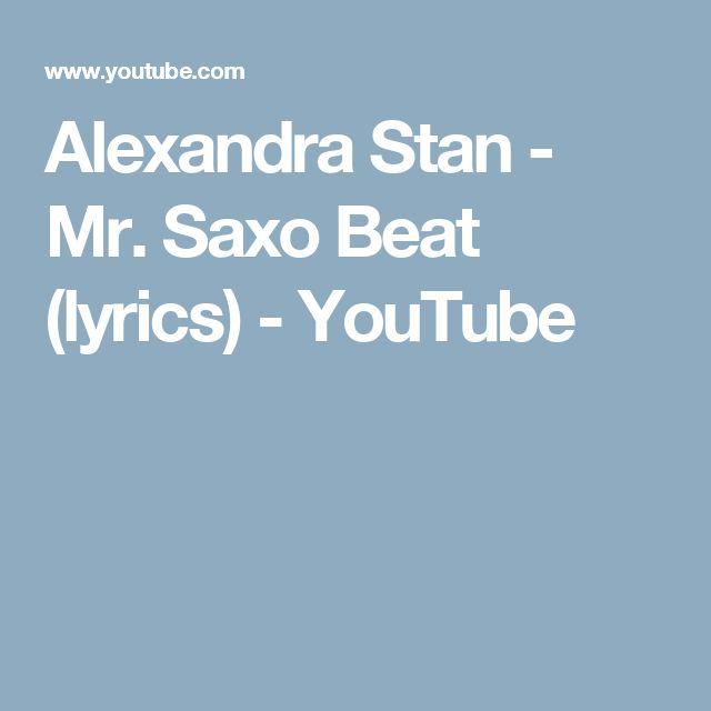 Alexandra Stan - Mr. SaxoBeat Lyrics   MetroLyrics