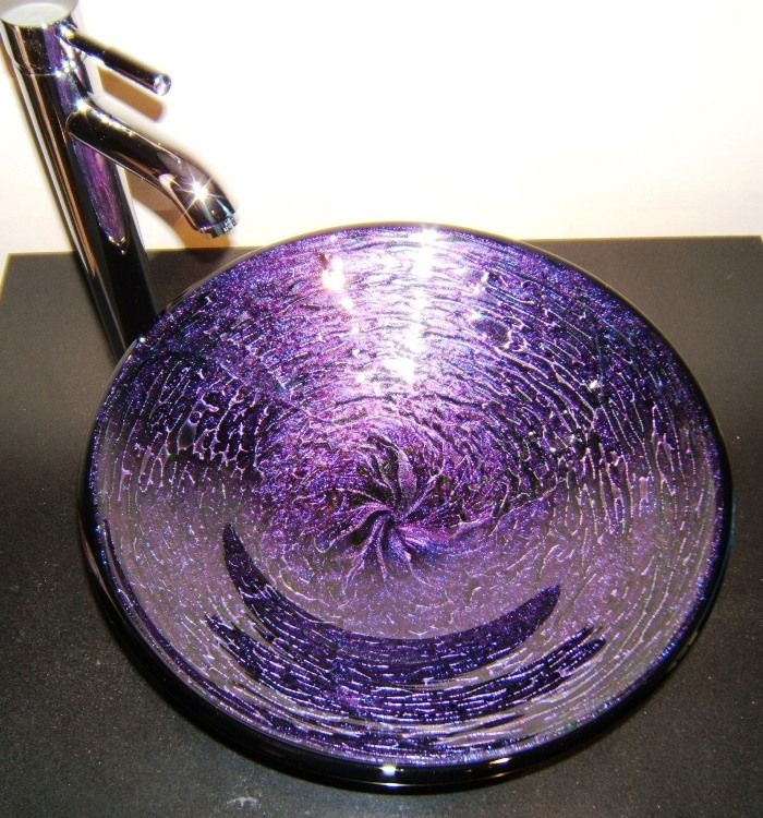 20006 best images about i love purple on pinterest for Purple glass bathtub