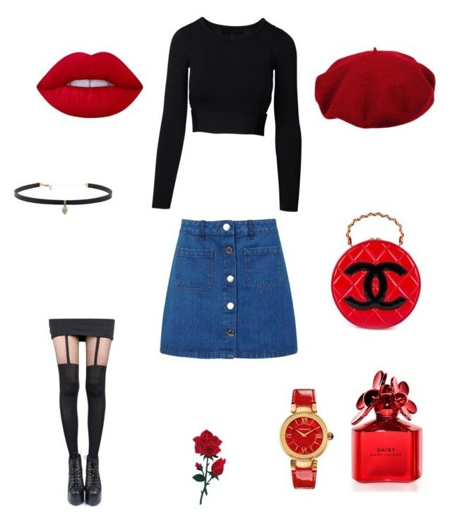 Rouge by amandamal on Polyvore featuring polyvore, fashion, style, Miss Selfridge, Pretty