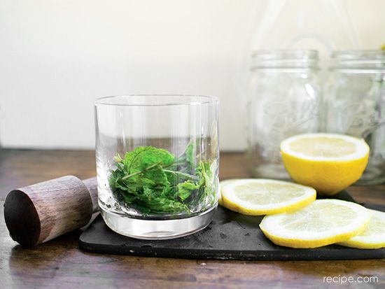 Ginger Mint Lemonade Keeps Your Summer Celebrations Cool and Easy