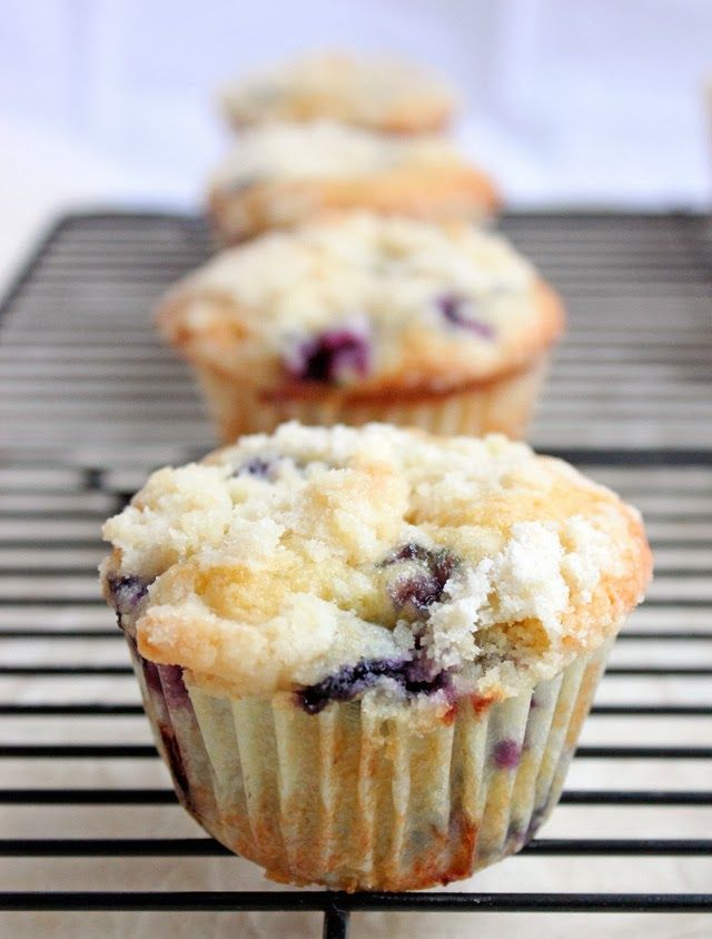 Recipes Around The Web - Browned Butter Blueberry Muffins Recipe from ...