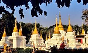The Wat Chedi Lang temple, Lampang